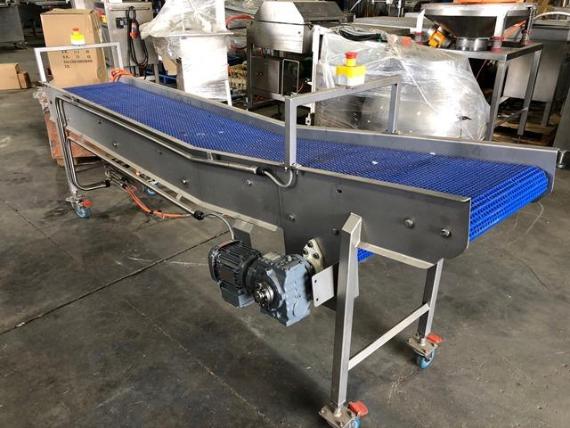 Conveyor Belt Type Ex Boning Room M Long Mm Wide Belt on Thermo Vacuum Tables