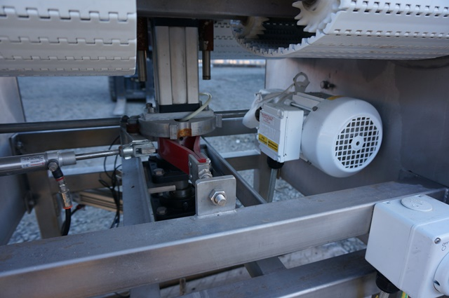 Conveyor Cryovac Direction Turning on Thermo Vacuum Tables